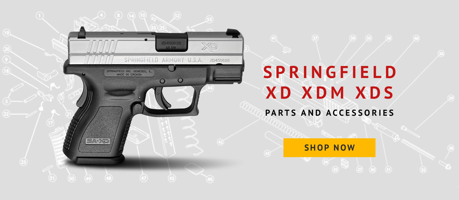 Springfield Xds 45 Schematic Great Installation Of Wiring Diagram Glock 22 Parts Also With Kimber 1911 Xdgunparts Com Llc Rh Xd 45acp