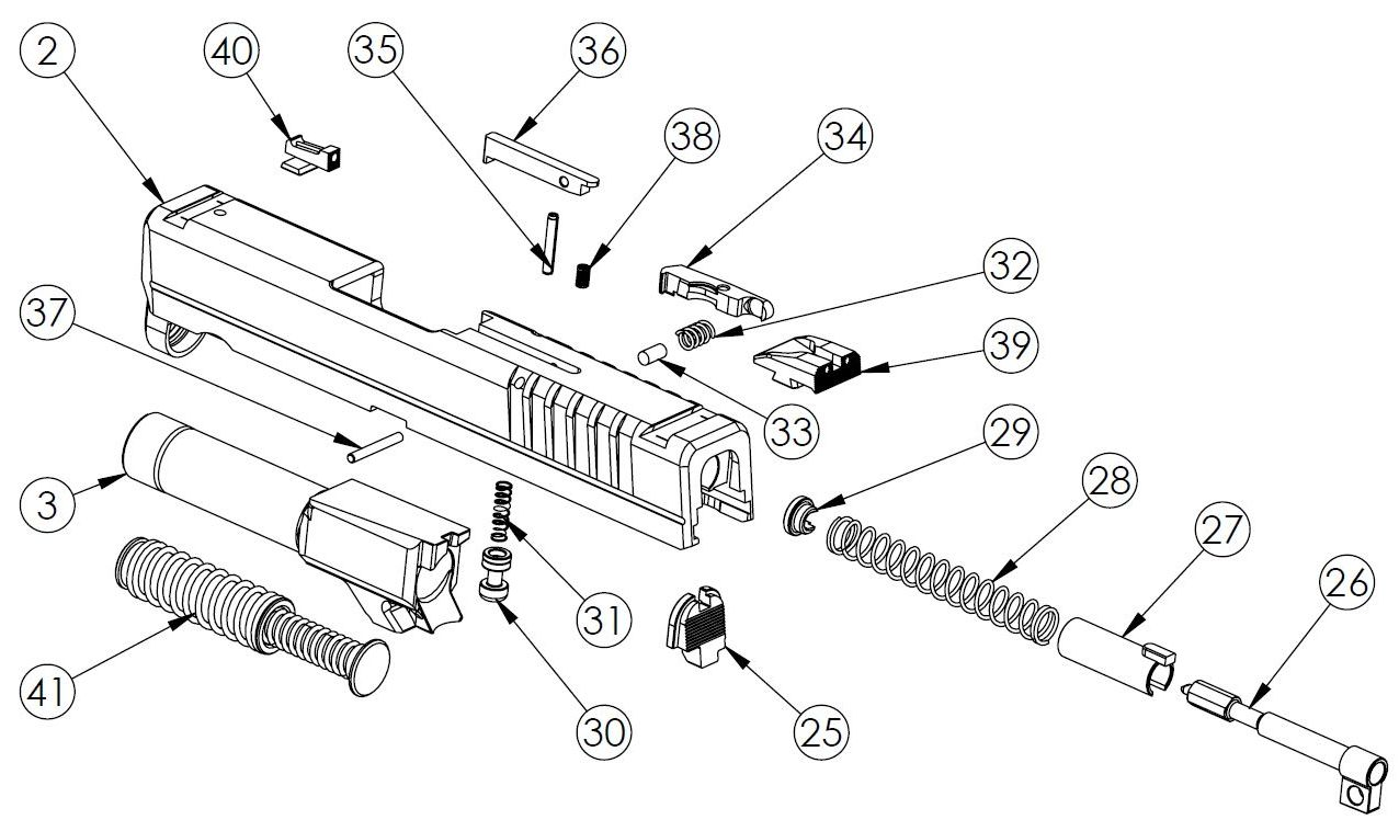 XDS-45ACP-Slide-Parts-picture Xdm Schematic on